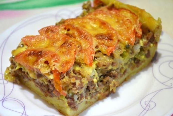 Пиріг з м'ясом: популярні рецепти з фото покроково