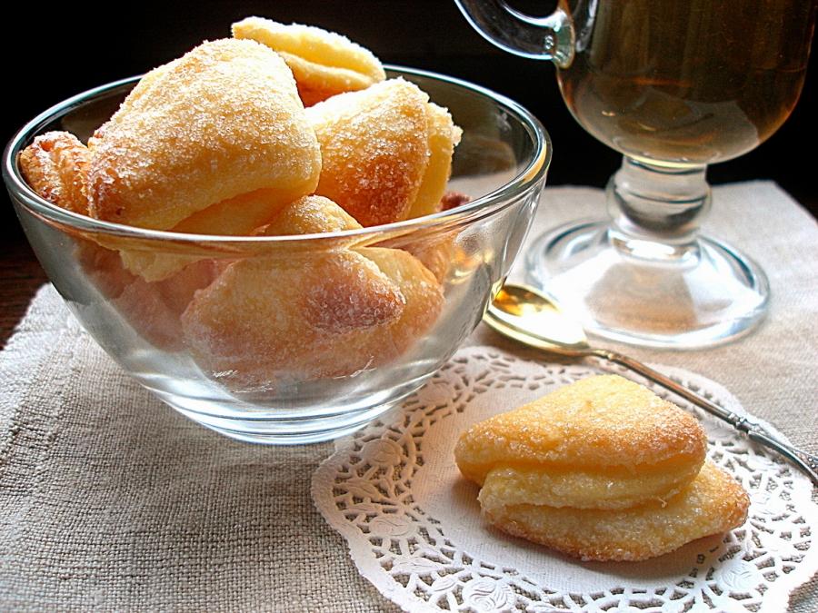 Печиво сирне «Трикутники»: покроковий рецепт з фото