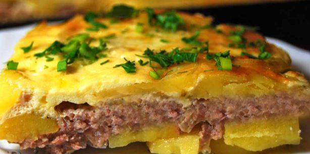 Картопля з фаршем в духовці: фарширована, запіканка, пиріг