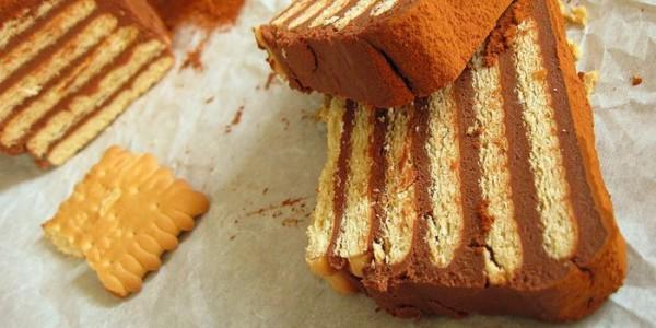 Торт без випічки печива і сиру: рецепти з фото