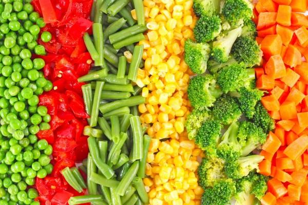 Як смачно приготувати заморожені овочі: рецепти з фото