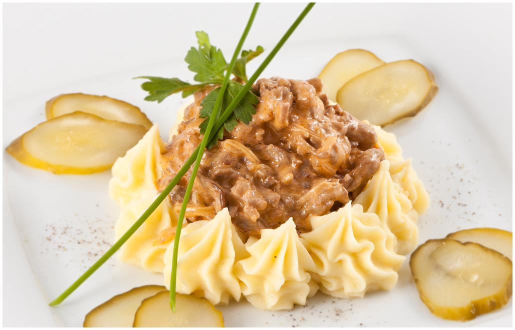 Бефстроганов з яловичини: класичний рецепт з фото покроково