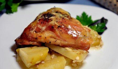 Стегенця з картоплею в духовці: рецепти приготування з фото