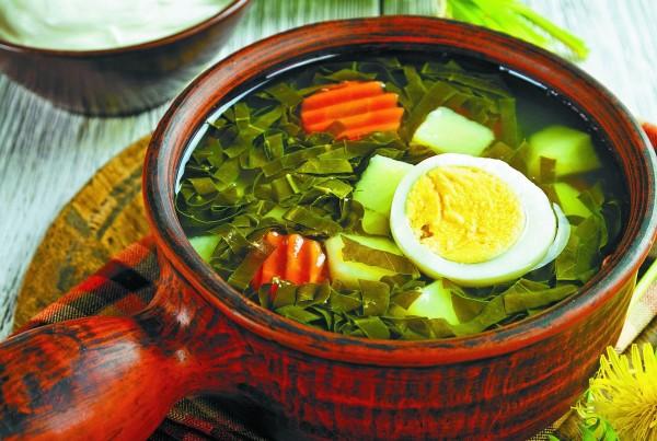 Щавлевий суп з яйцем: варіації рецептів з фото і відео
