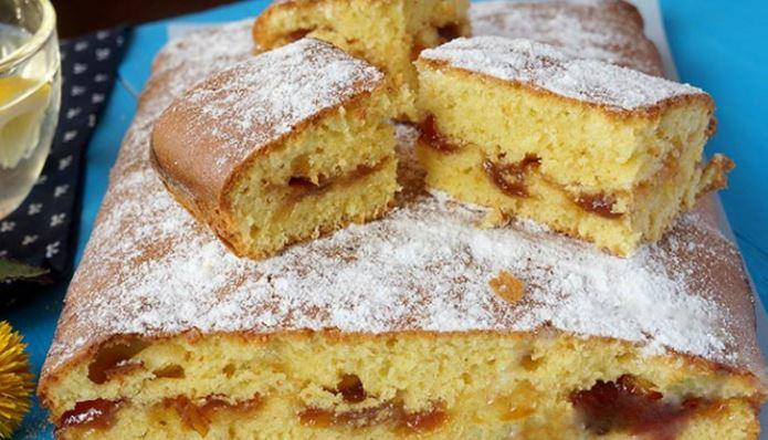 Пиріг з варенням на швидку руку: тертий, пісочний, відкритий