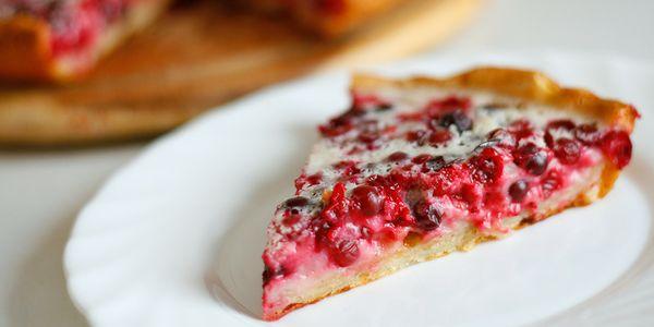 Пиріг з брусницею рецепти: швидкий, дріжджовий, пісочний