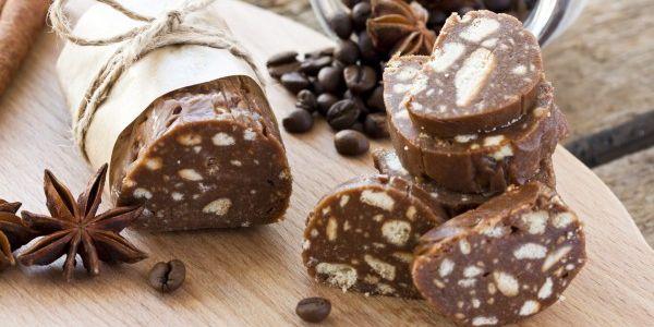 Шоколадна ковбаса рецепт: класичний, з печива, зі згущеним молоком